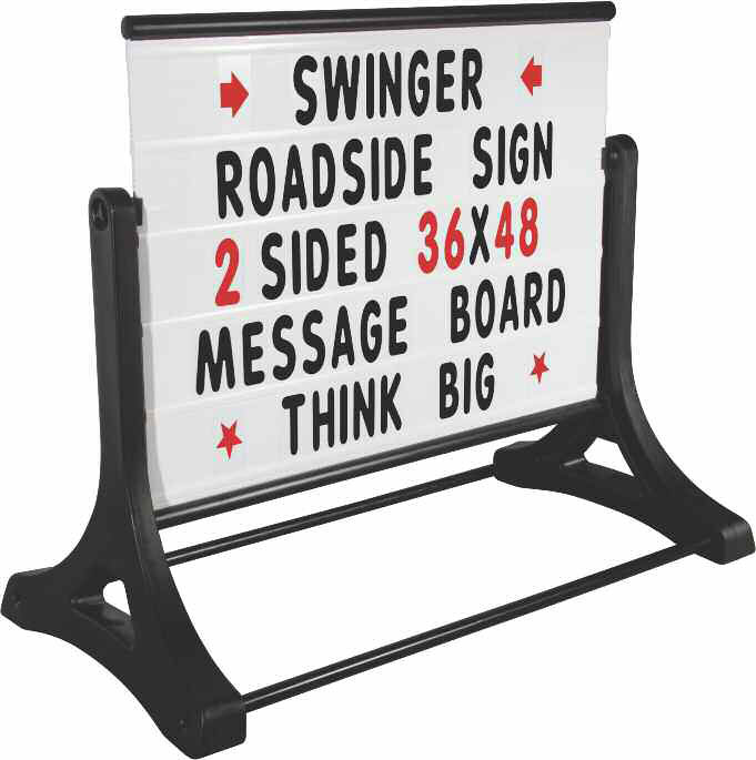 Pavement Signs Jansen Display